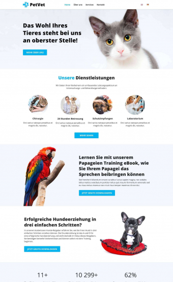 Webdesigner Saarbruecken- Website Tierarzt